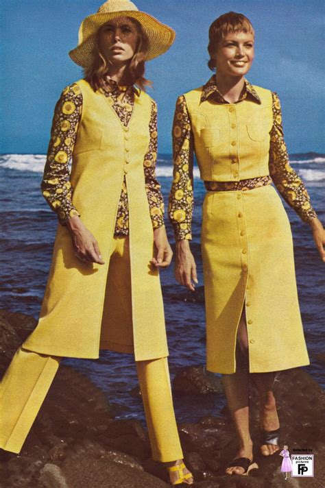 50 Awesome and Colorful Photoshoots of the 1970s Fashion