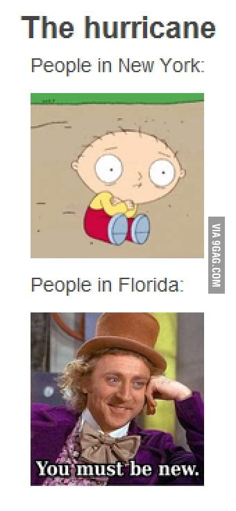How people feel about the hurricane - 9GAG