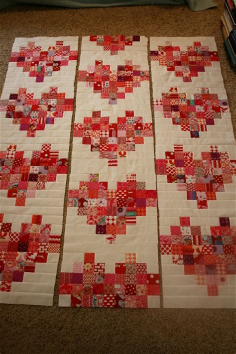 Scrappy Heart Quilt - Free Pattern and Tutorial - Hopeful
