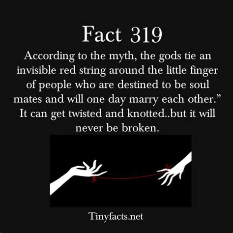 tinyfacts: The red string of fate