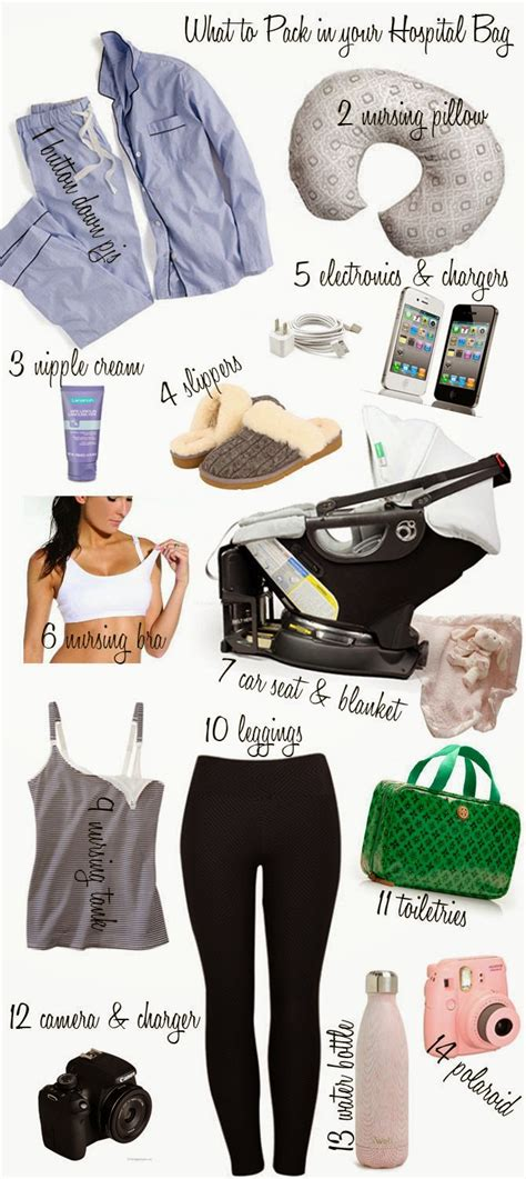 What to Pack in Your Hospital -Baby Delivery   Cella Jane
