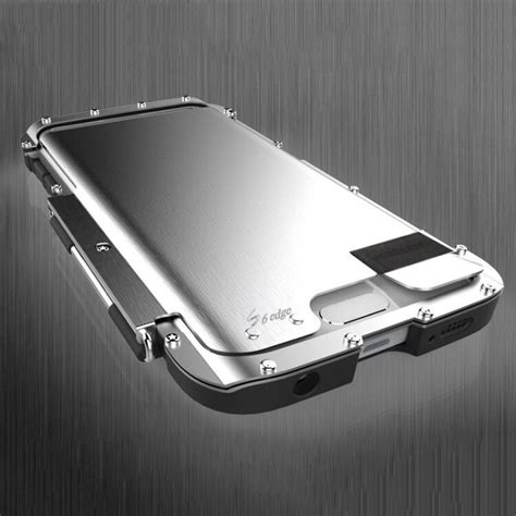 Armor Luxury Metal Aluminum Case Cover For Samsung Galaxy