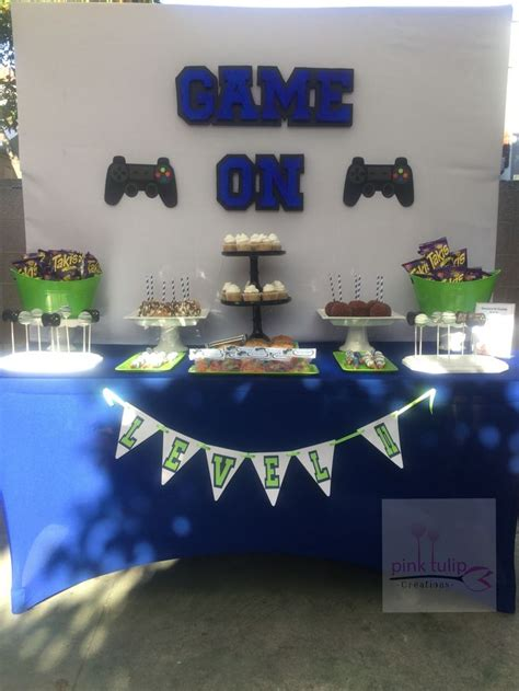 Pin on PlayStation 4 Dessert Table
