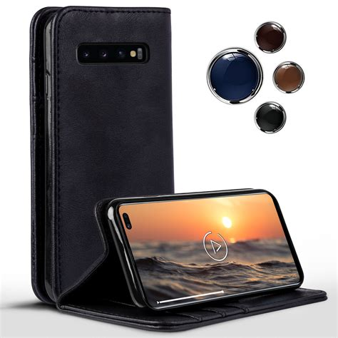 Book Case for Samsung Galaxy S10 Plus 360 Degree