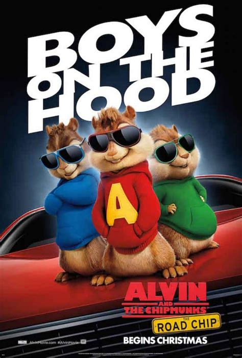 Alvin And The Chipmunks: The Road Chip – The Movie   Jenns