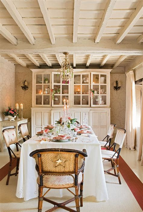 French Country Cottage with Christmas Decor - Home Bunch