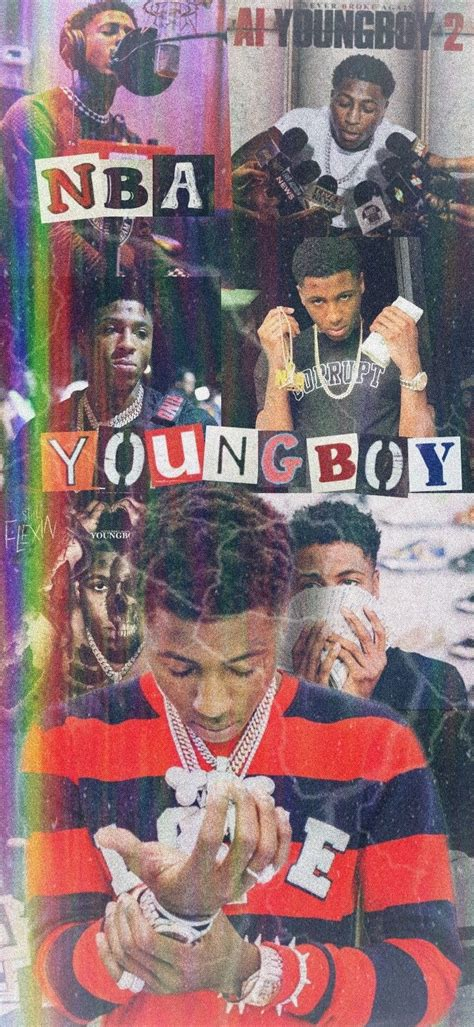NBA Youngboy Wallpaper in 2020 | Iphone wallpaper pattern