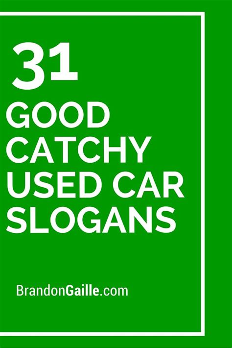 33 Good Catchy Used Car Slogans | Used cars and Cars