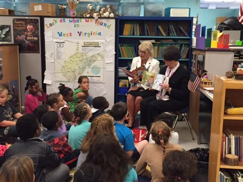 First Lady Tomblin helps kickoff fire safety reading