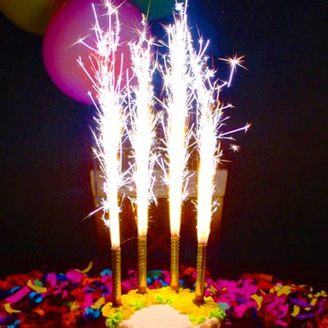 Gold Sparkler Candle   Party Wholesale