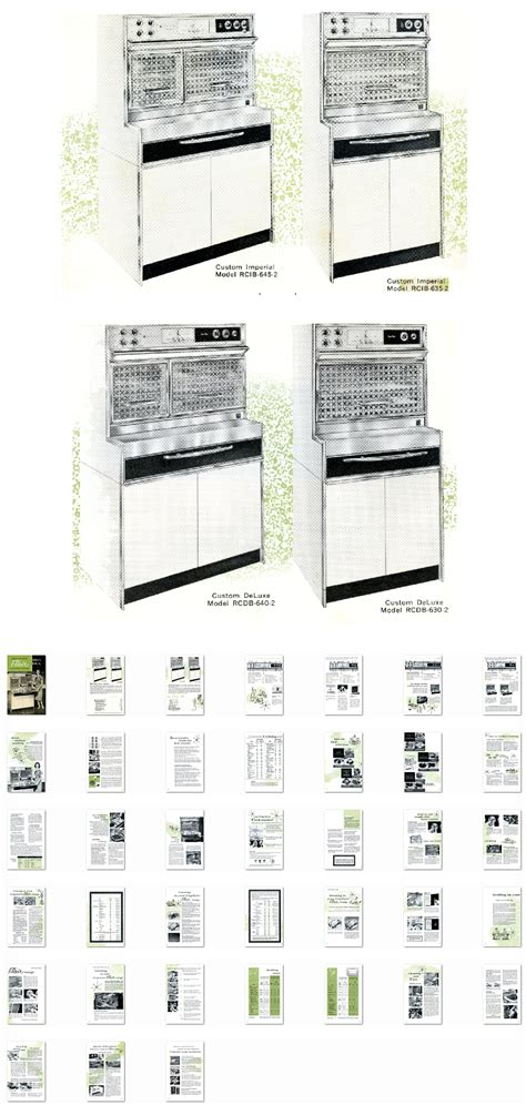 Kitchen Range Library-1962 Frigidaire Flair Electric