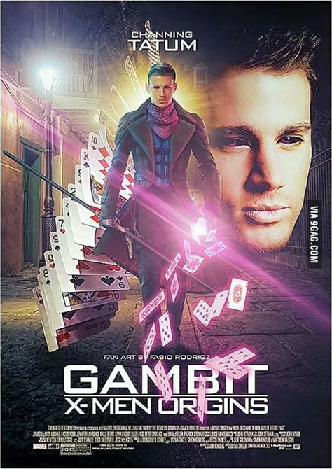The Official movie poster for upcoming film Gambit with