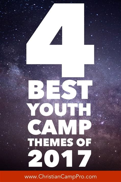 4 Best Youth Camp Themes for 2017 - Christian Camp Pro