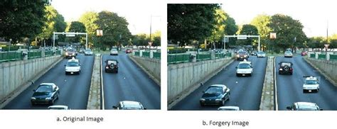 Example of Car Copy-Move Forgery   Download Scientific Diagram