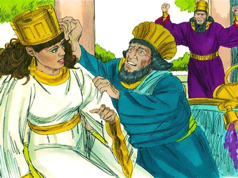 FreeBibleimages :: Story of Esther: Part 3 :: Queen Esther