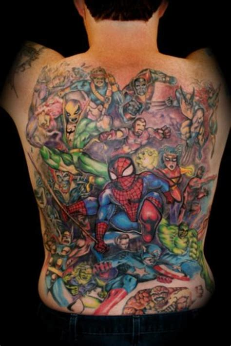 Marvel Tattoos Designs, Ideas and Meaning   Tattoos For You