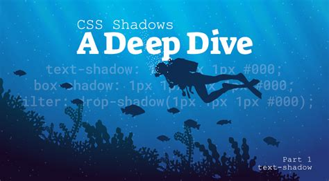 CSS Shadows: A Deep Dive Part 1 - text-shadow by Lurx on