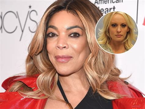 Wendy Williams Says Stormy Daniels Was Set Up, But Is 'Too