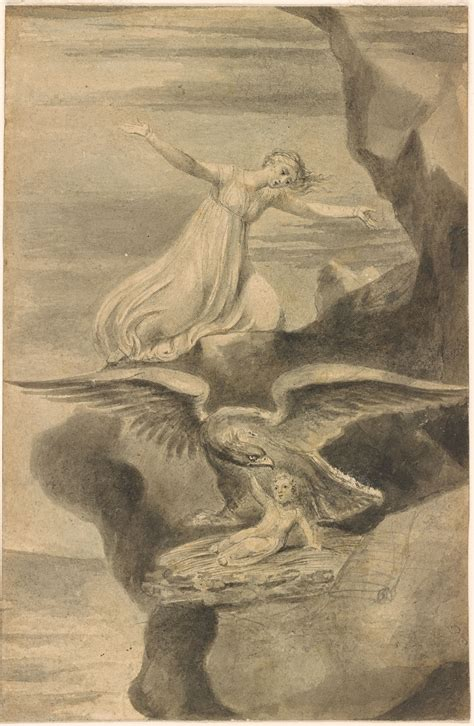 William Blake   The Eagle   Drawings Online   The Morgan