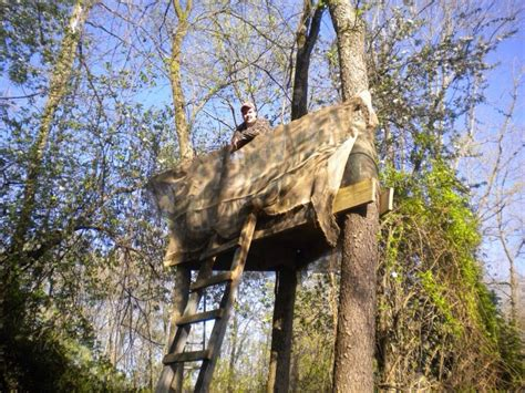 Anyone still build permenant wooden tree stands anymore