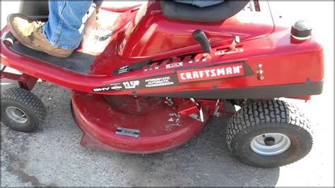Craftsman 10 Hp 30 Inch Riding Lawn Mower Reviews | Home