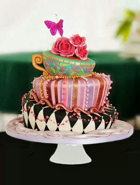 Pin by Katherine Brison on Creative Cakes   Mad hatter