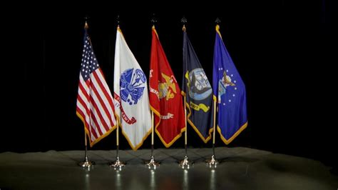 DVIDS - Video - US Flag Displayed in a Line with Other