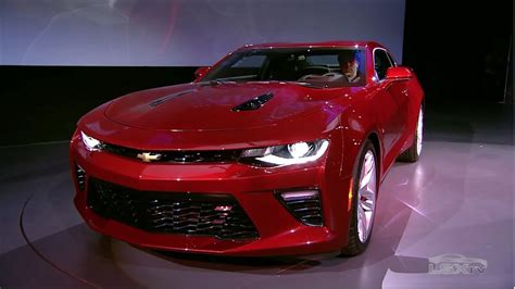 First Look: The 2016 6th Gen Camaro - YouTube