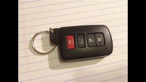 DIY How to Change / Replace Smartkey Keyfob BATTERY on a