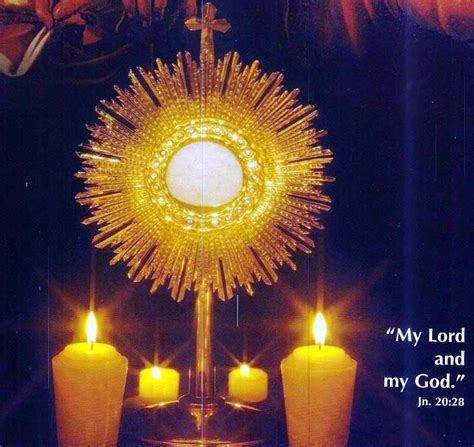 Da Mihi Animas: Lessons from Jesus in the Blessed Sacrament