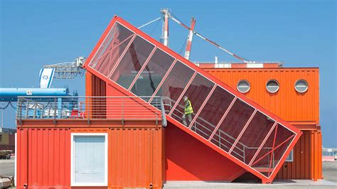 This New Shipping Container Office is Handsomely Off